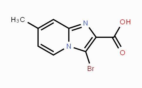 1352723-58-0 | 3-bromo-7-methylimidazo[1,2-a]pyridine-2-carboxylic acid