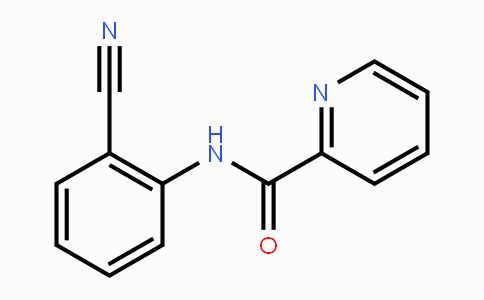 304650-02-0   N-(2-cyanophenyl)picolinamide