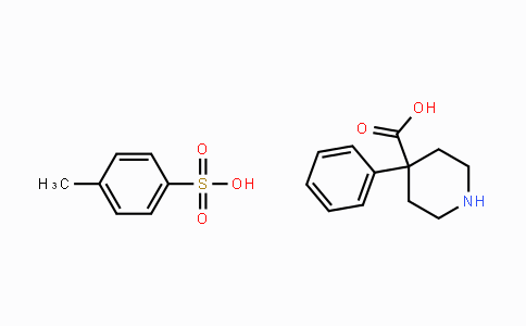 83949-32-0 | 4-phenylpiperidine-4-carboxylic acid compound with 4-methylbenzenesulfonic acid (1:1)