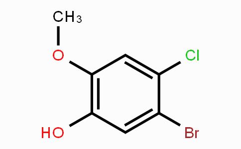 86735-02-6 | 5-bromo-4-chloro-2-methoxyphenol