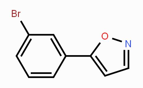 7064-33-7 | 5-(3-bromophenyl)isoxazole
