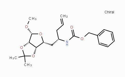 1431134-88-1 | benzyl (S)-1-((3aS,4R,6R,6aS)-6-methoxy-2,2-dimethyltetrahydrofuro[3,4-d][1,3]dioxol-4-yl)pent-4-en-2-ylcarbamate