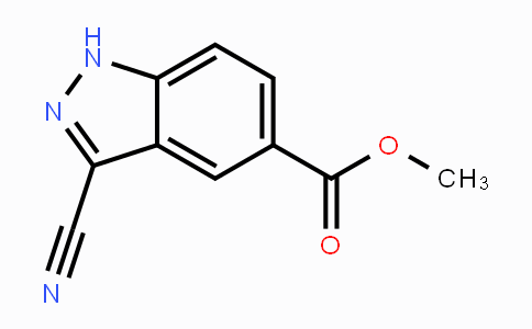 MC443560 | 1190319-99-3 | methyl 3-cyano-1H-indazole-5-carboxylate