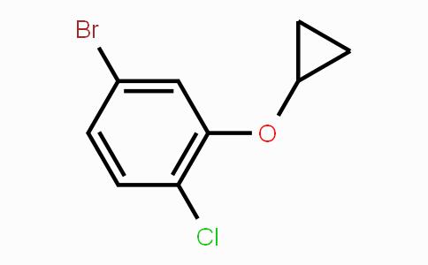 869569-68-6 | 4-bromo-1-chloro-2-cyclopropoxybenzene