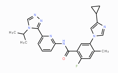 MC443574 | 1448428-04-3 | Selonsertib(GS-4997)