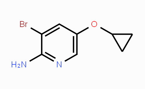 1243452-61-0 | 3-bromo-5-cyclopropoxypyridin-2-amine
