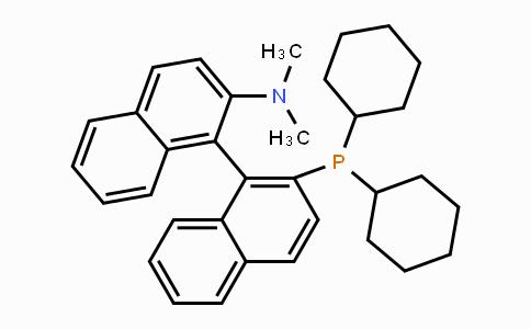 255882-15-6 | 2'-(dicyclohexylphosphino)-N,N-dimethyl-1,1'-binaphthyl-2-amine