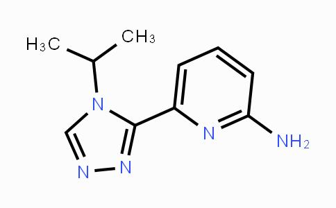 1448427-99-3 | 6-(4-isopropyl-4H-1,2,4-triazol-3-yl)pyridin-2-amine