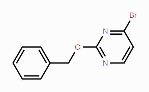 1209458-18-3 | 2-(benzyloxy)-4-bromopyrimidine