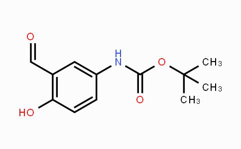 402826-43-1 | tert-butyl 3-formyl-4-hydroxyphenylcarbamate