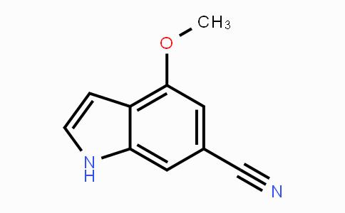 1427376-90-6 | 4-methoxy-1H-indole-6-carbonitrile