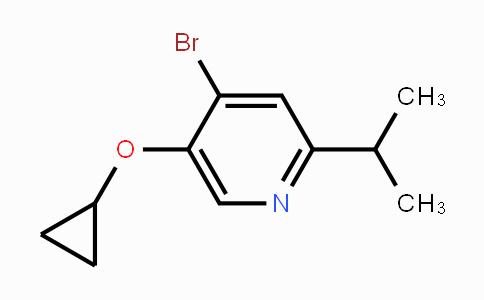 1243457-09-1 | 4-bromo-5-cyclopropoxy-2-isopropylpyridine