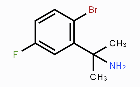 1314739-27-9 | 2-(2-bromo-5-fluorophenyl)propan-2-amine