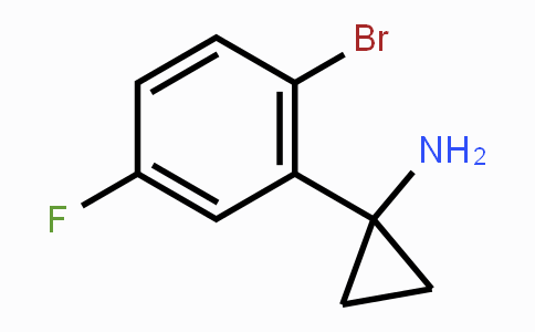 1260830-64-5 | 1-(2-bromo-5-fluorophenyl)cyclopropanamine