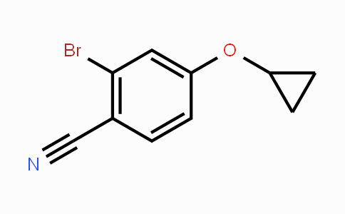1243411-24-6 | 2-bromo-4-cyclopropoxybenzonitrile