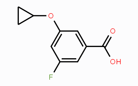 1243324-98-2 | 3-cyclopropoxy-5-fluorobenzoic acid