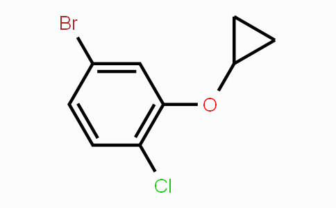 1201196-54-4 | 4-bromo-1-chloro-2-cyclopropoxybenzene