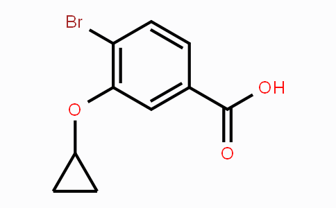 1243318-30-0 | 4-bromo-3-cyclopropoxybenzoic acid