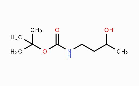 167216-30-0 | tert-butyl 3-hydroxybutylcarbamate