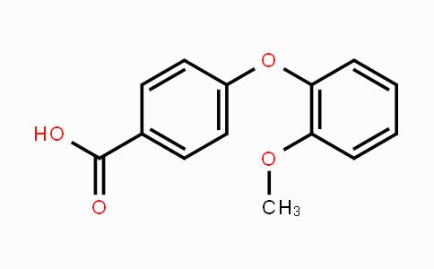 103203-54-9 | 4-(2-methoxyphenoxy)benzoic acid