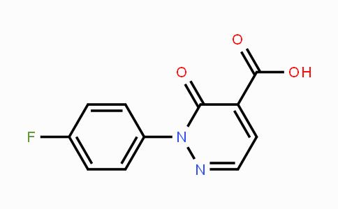 946505-09-5 | 2-(4-fluorophenyl)-3-oxo-2,3-dihydropyridazine-4-carboxylic acid