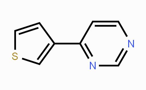 19084-28-7 | 4-(thiophen-3-yl)pyrimidine