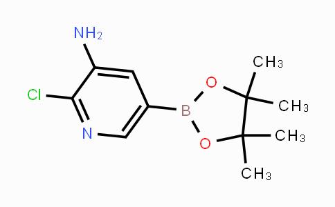 1073354-96-7 | 2-chloro-5-(4,4,5,5-tetramethyl-1,3,2-dioxaborolan-2-yl)pyridin-3-amine