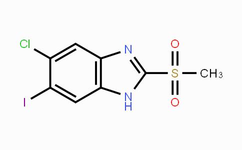 1219741-19-1 | 5-chloro-6-iodo-2-(methylsulfonyl)-1H-benzo[d]imidazole