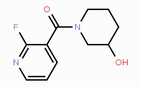 1065484-91-4 | (2-fluoropyridin-3-yl)(3-hydroxypiperidin-1-yl)methanone