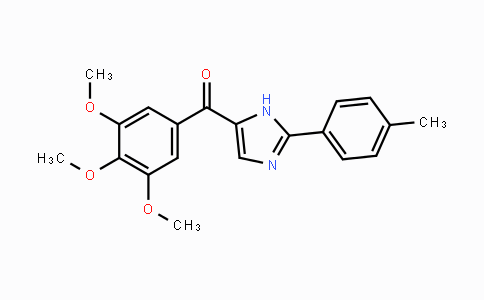 1253697-93-6 | (2-p-tolyl-1H-imidazol-5-yl)(3,4,5-trimethoxyphenyl)methanone