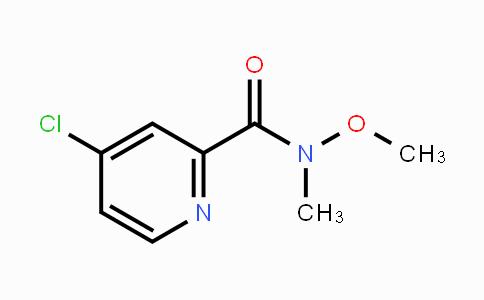 757251-62-0 | 4-chloro-N-methoxy-N-methylpicolinamide