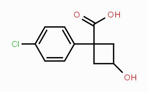 1145681-01-1 | 1-(4-chlorophenyl)-3-hydroxycyclobutanecarboxylic acid