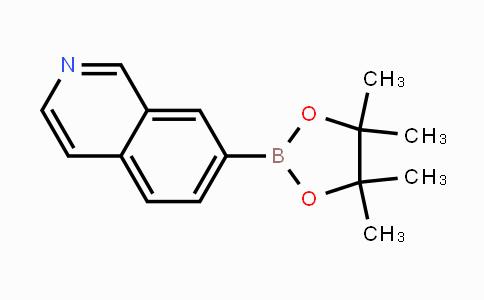 1082947-07-6 | 7-(4,4,5,5-tetramethyl-1,3,2-dioxaborolan-2-yl)isoquinoline