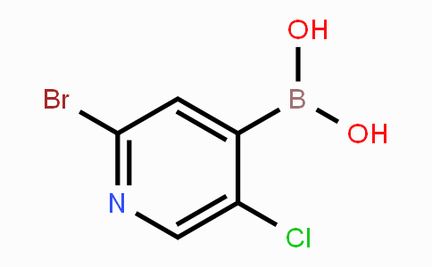 1072952-51-2   2-bromo-5-chloropyridin-4-ylboronic acid