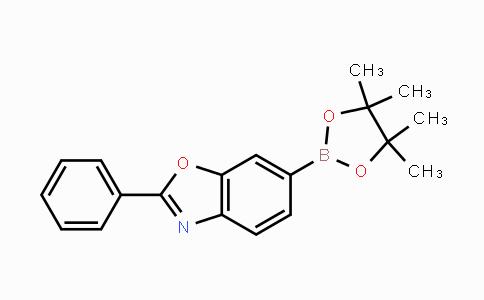 1325241-78-8 | 2-phenyl-6-(4,4,5,5-tetramethyl-1,3,2-dioxaborolan-2-yl)benzo[d]oxazole