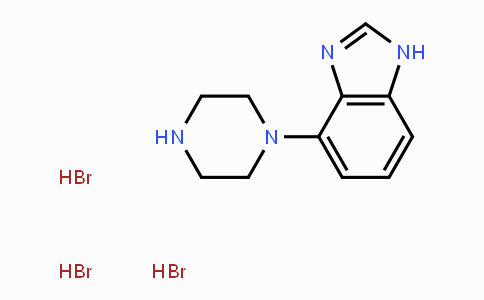 84806-71-3 | 4-(piperazin-1-yl)-1H-benzo[d]imidazole trihydrobromide