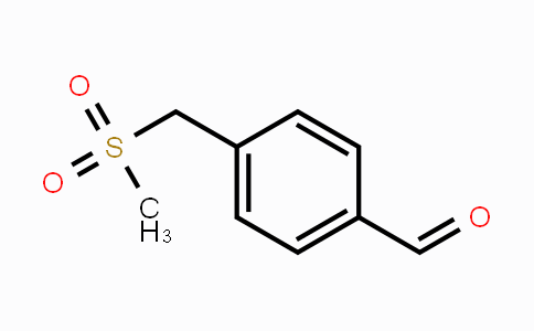 156867-56-0 | 4-(methylsulfonylmethyl)benzaldehyde