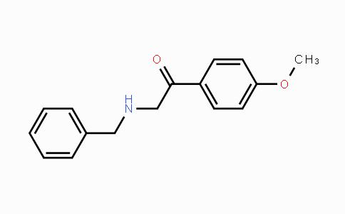 347977-58-6 | 2-(benzylamino)-1-(4-methoxyphenyl)ethanone