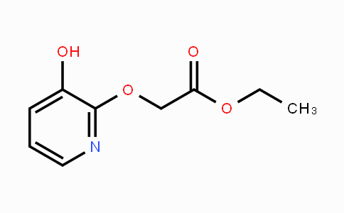 353292-81-6 | ethyl 2-(3-hydroxypyridin-2-yloxy)acetate