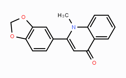 485-61-0 | 2-(benzo[d][1,3]dioxol-5-yl)-1-methylquinolin-4(1H)-one