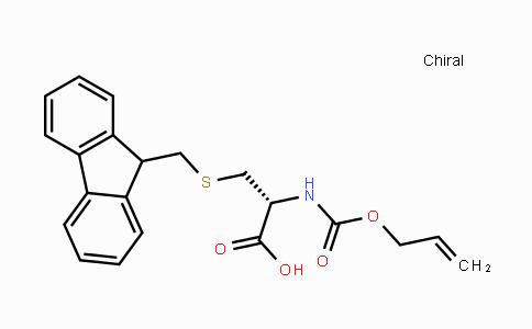 182201-77-0 | S-((9H-fluoren-9-yl)methyl)-N-((allyloxy)carbonyl)-L-cysteine