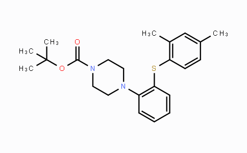 960203-42-3 | 4-[2-(2,4-DiMethylphenylsulfanyl)phenyl]piperazine-1-carboxylic acid tert-butyl ester