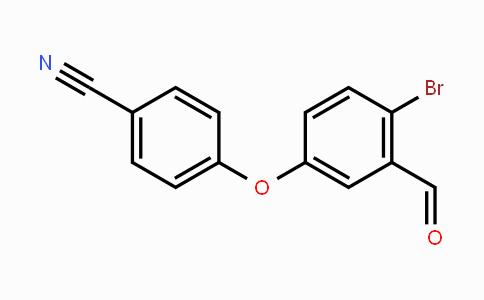 906673-54-9 | 4-(4-Bromo-3-formylphenoxy)benzonitrile