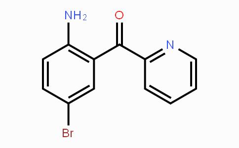 1563-56-0 | 2-(2-amino-5-bromobenzoyl)pyridine