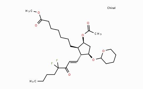 127545-37-3 | methyl 7-((1R,2R,3R,5S)-5-acetoxy-2-((E)-4,4-difluoro-3-oxooct-1-en-1-yl)-3-((tetrahydro-2H-pyran-2-yl)oxy)cyclopentyl)heptanoate