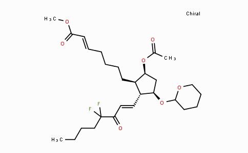 1610029-17-8 | (E)-methyl 7-((1R,2R,3R,5S)-5-acetoxy-2-((E)-4,4-difluoro-3-oxooct-1-en-1-yl)-3-((tetrahydro-2H-pyran-2-yl)oxy)cyclopentyl)hept-2-enoate
