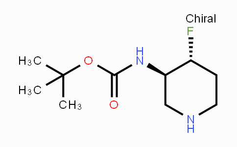 1052713-46-8 | (3R,4R)-rel-3-(Boc-amino)-4-fluoropiperidine