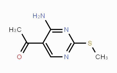 352328-55-3   1-(4-Amino-2-methylsulfanyl-pyrimidin-5-yl)-ethanone