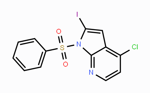 940948-30-1 | 1-Benzenesulfonyl-4-chloro-2-iodo-7-azaindole