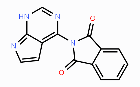741686-49-7 | 2-(1H-Pyrrolo[2,3-d]pyrimidin-4-yl)-1H-isoindole-1,3(2H)-dione